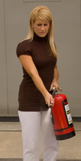 Extinguisher Training